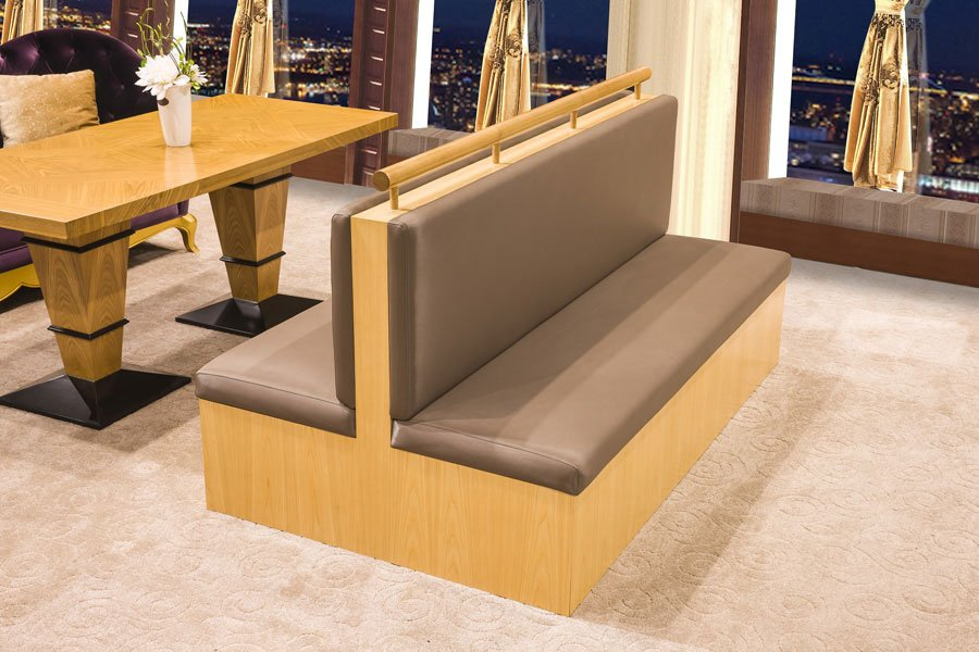 restaurant booth sofa